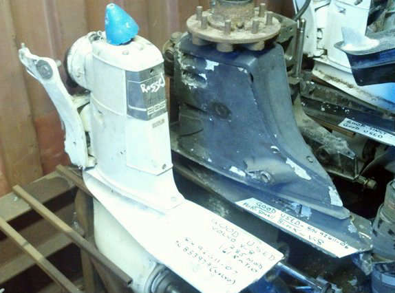 volvo penta 285 outdrive -