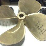 prop 19Rh17 1-3-8 bore Michigan Dyna Quad id crt128 595 each
