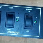 marine generator breaker and switch