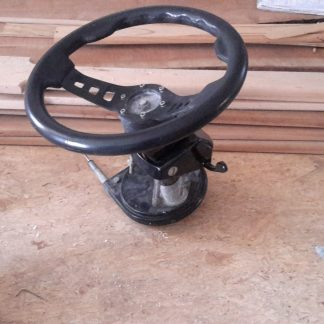 boat steering wheel assembly
